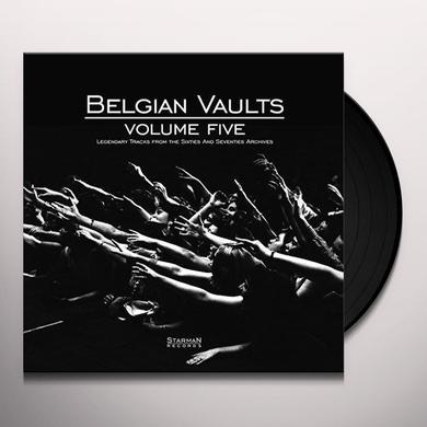 BELGIAN VAULTS VOLUME 5 / VARIOUS (W/CD) (UK) BELGIAN VAULTS VOLUME 5 / VARIOUS Vinyl Record