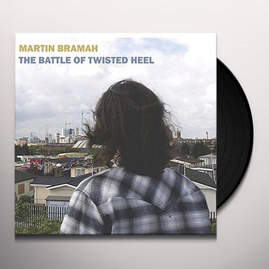 Martin Bramah BATTLE OF TWISTED HEEL Vinyl Record - UK Import
