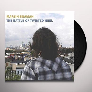 Martin Bramah BATTLE OF TWISTED HEEL Vinyl Record - UK Release
