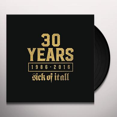 Sick Of It All WHEN THE SMOKE CLEARS Vinyl Record
