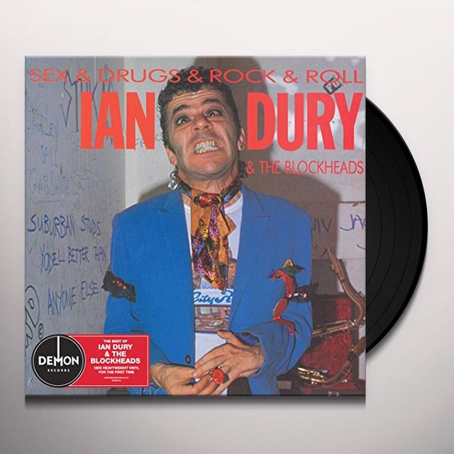Ian Dury SEX & DRUGS & ROCK N ROLL Vinyl Record - UK Import