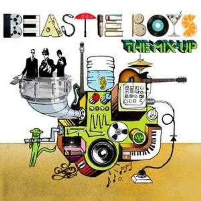 Beastie Boys MIX-UP Vinyl Record - UK Import