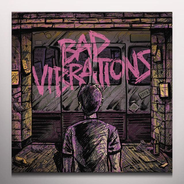 Day to Remember BAD VIBRATIONS Vinyl Record - Colored Vinyl, Limited Edition
