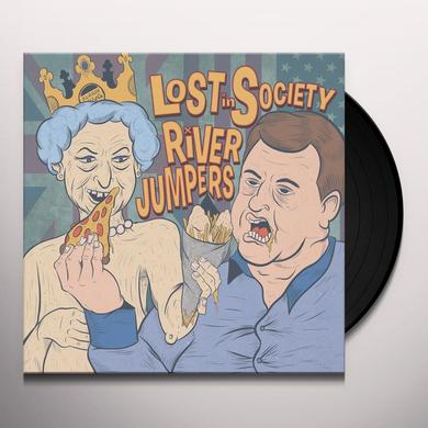 LOST IN SOCIETY / RIVER JUMPERS PSR SPLIT SERIES 1 Vinyl Record
