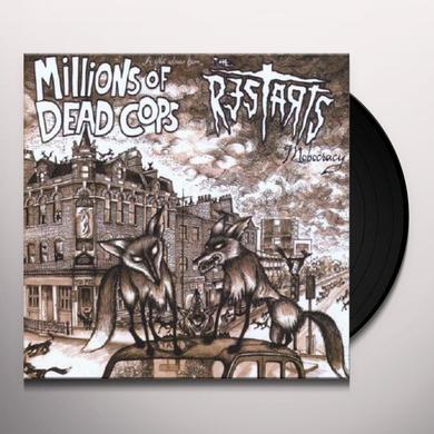 M.D.C. / RESTARTS MOBOCRACY Vinyl Record