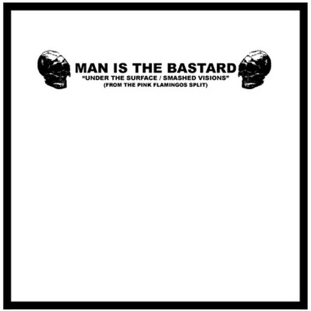 Man Is The Bastard ANGER & ENGLISH - DEPROGRAMMING THE BIGOT Vinyl Record - 10 Inch Single