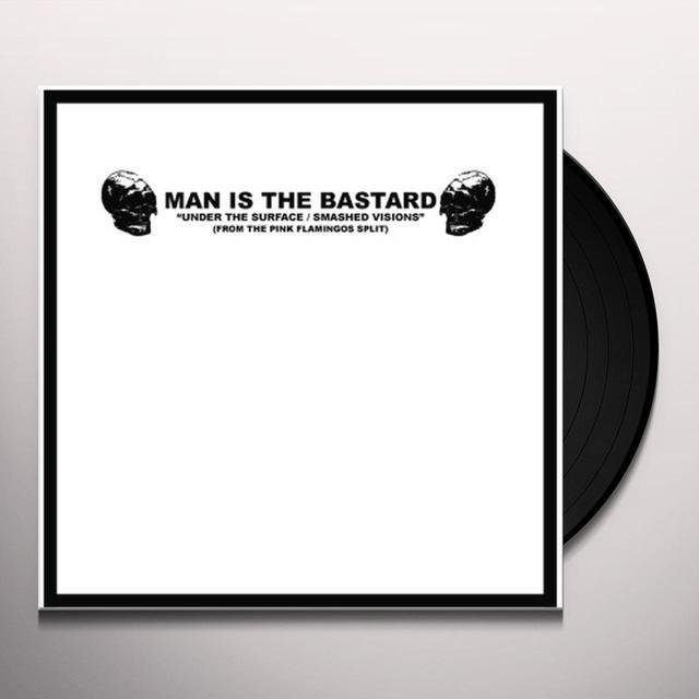 Man Is The Bastard ANGER & ENGLISH - DEPROGRAMMING THE BIGOT Vinyl Record - 10 Inch Single