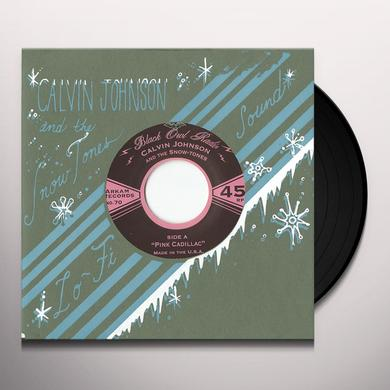 JOHNSON,CALVIN / SNOW-TONES PINK CADILLAC Vinyl Record