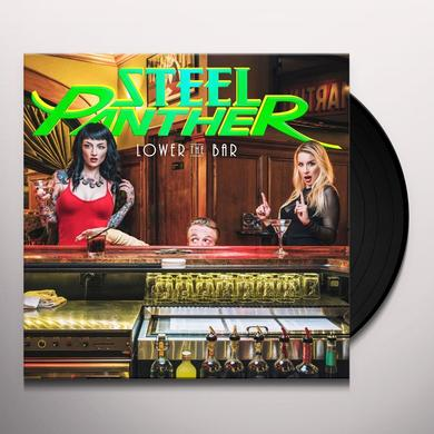 Steel Panther LOWER THE BAR Vinyl Record
