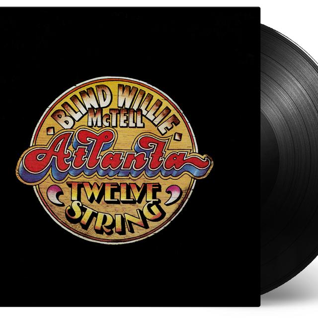 Blind Willie Mctell ATLANTA TWELVE STRING Vinyl Record - Holland Import
