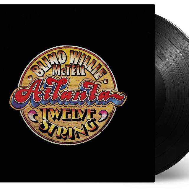 Blind Willie Mctell ATLANTA TWELVE STRING Vinyl Record - Holland Import
