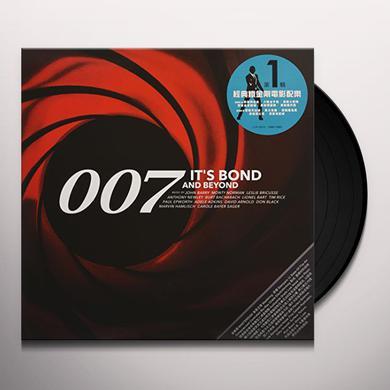 CITY OF PRAGUE PHILHARMONIC ORCHESTRA (HK) 007: IT'S BOND & BEYOND Vinyl Record
