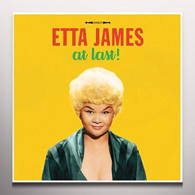 Etta James AT LAST (YELLOW VINYL) Vinyl Record - Colored Vinyl, 180 Gram Pressing, Yellow Vinyl, UK Import