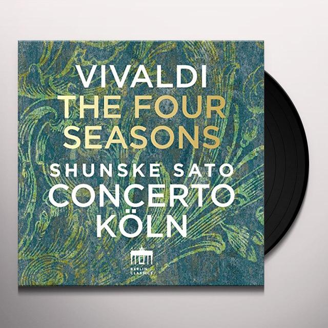 VIVALDI / SATO,SHUNSKE / CONCERTO KOLN VIVALDI: FOUR SEASONS Vinyl Record - UK Import