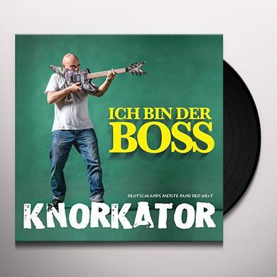 Knorkator ICH BIN DER BOSS (GER) Vinyl Record