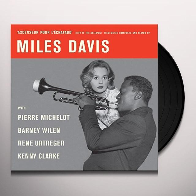 DAVIS,MILES (10IN) (OGV) (SPA) ASCENSEUR POUR L'ECHAFAUD / O.S.T. Vinyl Record - 10 Inch Single, 180 Gram Pressing