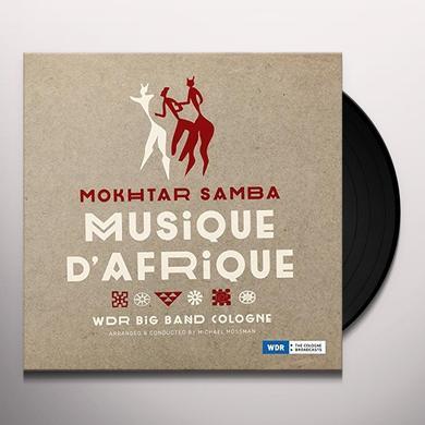 Mokhtar Samba / Wdr Big Band Cologne MUSIQUE D'AFRIQUE Vinyl Record