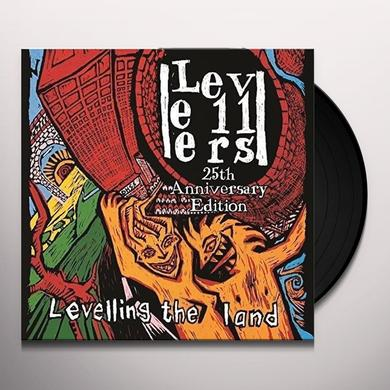 Levellers LEVELLING THE LAND (25TH ANNIVERSARY EDITION) Vinyl Record - UK Release