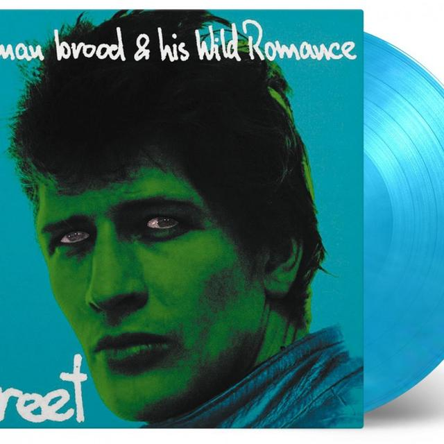BROOD,HERMAN & HIS WILD ROMANCE STREET Vinyl Record - Limited Edition, 180 Gram Pressing