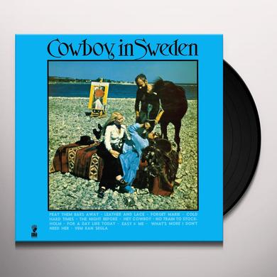 Lee Hazlewood COWBOY IN SWEDEN Vinyl Record