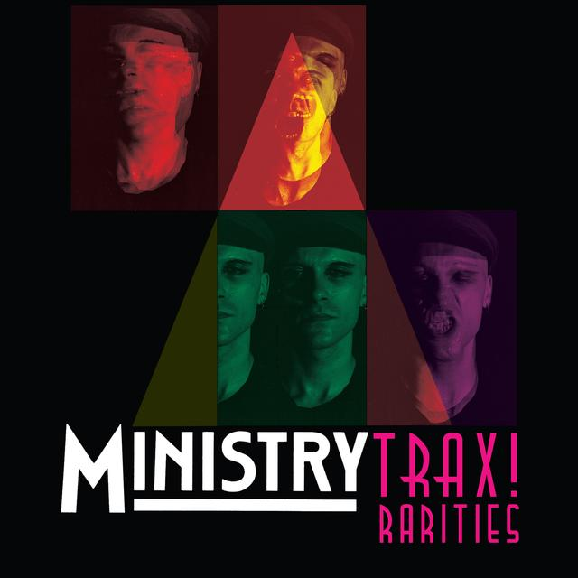 Ministry TRAX! RARITIES Vinyl Record - Limited Edition
