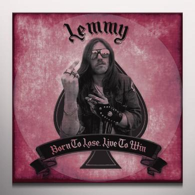 Lemmy BORN TO LOSE LIVE TO WIN Vinyl Record