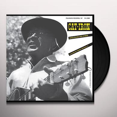 Cat-Iron SINGS BLUES & HYMNS Vinyl Record