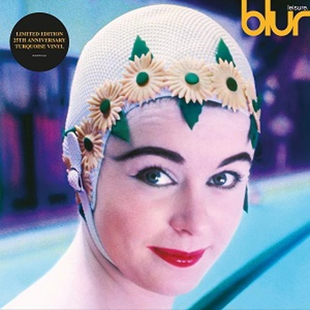 Blur LEISURE (25TH ANNIVERSARY EDITION) Vinyl Record - Blue Vinyl, Colored Vinyl
