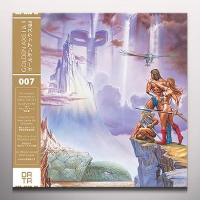 GOLDEN AXE I & II / O.S.T. (GOLD) GOLDEN AXE I & II / O.S.T. Vinyl Record - Gold Disc