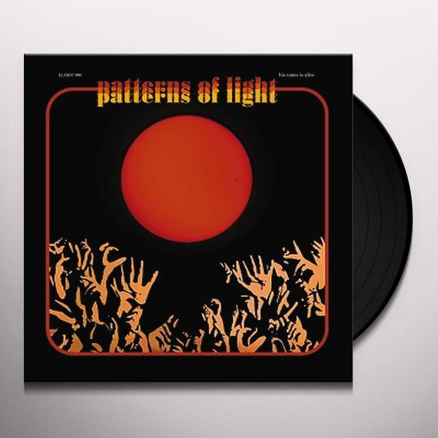 His Name Is Alive PATTERNS OF LIGHT Vinyl Record - 180 Gram Pressing, Deluxe Edition