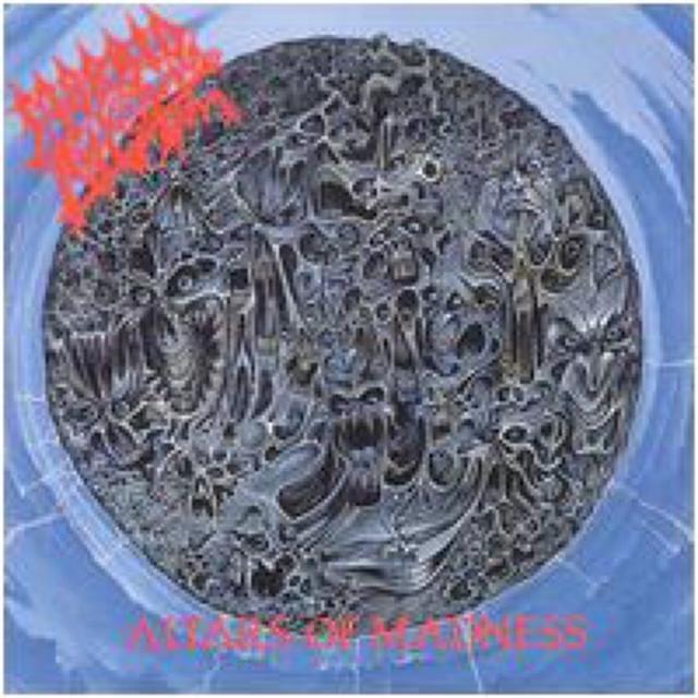 Morbid Angel ALTARS OF MADNESS Vinyl Record