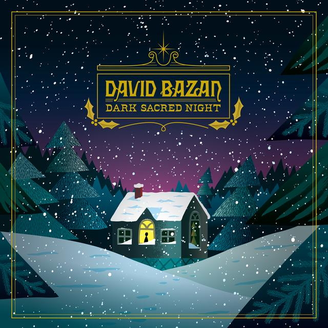 David Bazan DARK SACRED NIGHT Vinyl Record - Colored Vinyl, Digital Download Included