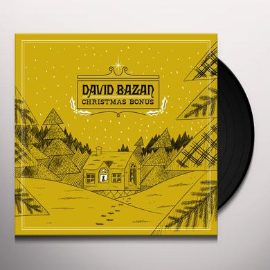 David Bazan CHRISTMAS BONUS Vinyl Record
