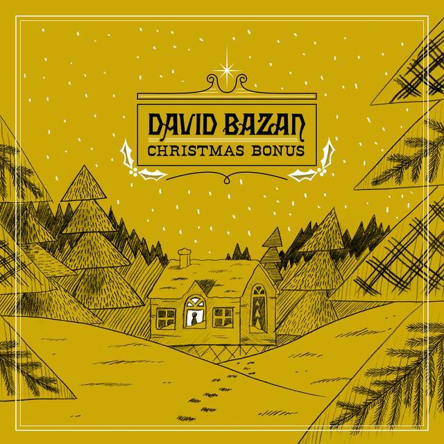 David Bazan CHRISTMAS BONUS Vinyl Record - Digital Download Included