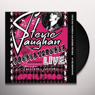 Stevie Ray Vaughan IN THE BEGINNING Vinyl Record