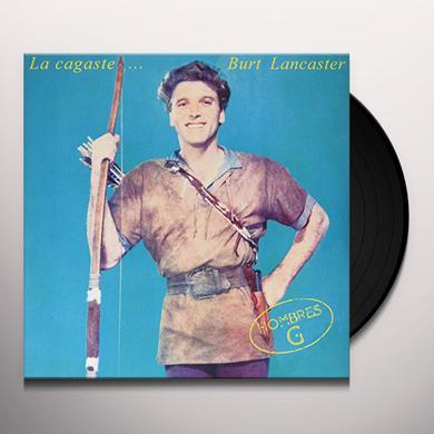 Hombres G LA CAGASTE BURT LANCASTER Vinyl Record