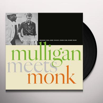 Thelonious Monk / Gerry Mulligan MULLIGAN MEETS MONK Vinyl Record