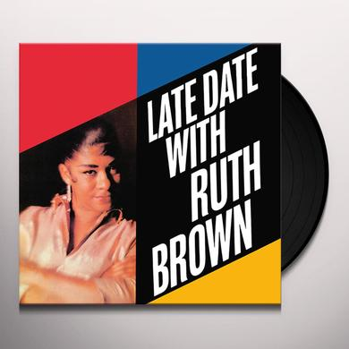 LATE DATE WITH RUTH BROWN Vinyl Record