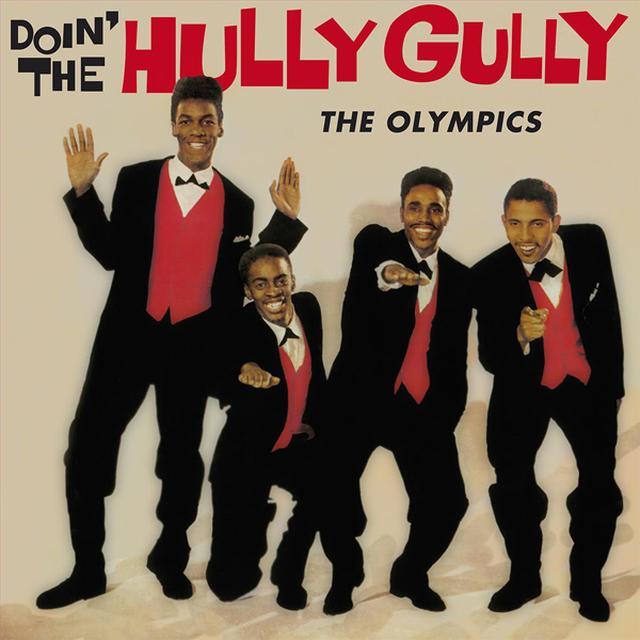 Olympics DOIN' THE HULLY GULLY Vinyl Record
