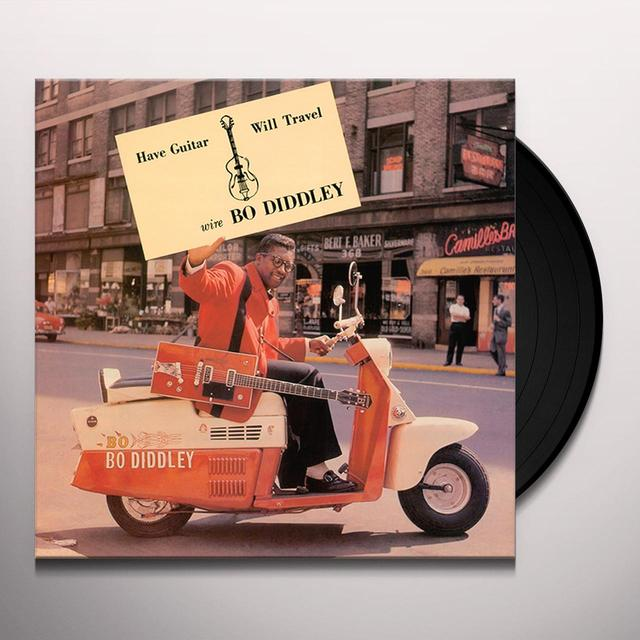 Bo Diddley HAVE GUITAR WILL TRAVEL Vinyl Record