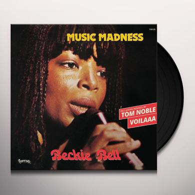 Beckie Bell MUSIC MADNESS Vinyl Record