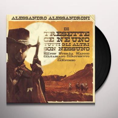 Alessandro Alessandroni DI TRESETTE CE N'E UNO TUTTI GLI ALTRI SON NESSUNO Vinyl Record