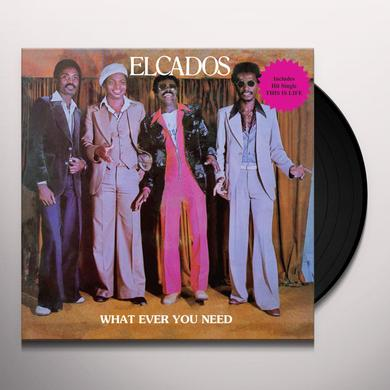 ELCADOS WHAT EVER YOU NEED Vinyl Record