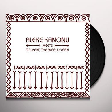 KANONU,ALEKE MEETS TOLBERT THE MIRACLE MAN HAPPINESS / NWANNE NWANNE NWANNE Vinyl Record