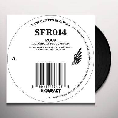 Rous LA PURPURA DEL OCASO Vinyl Record