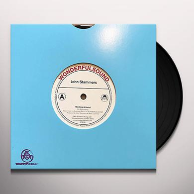 John Stammers WAITING AROUND SINGLE WITH COLORAMA REMIX Vinyl Record