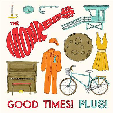 Monkees GOOD TIMES PLUS Vinyl Record