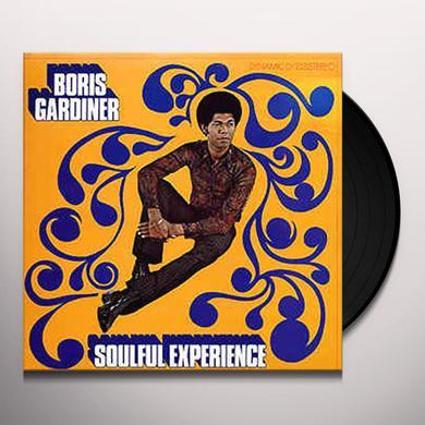Boris Gardiner SOULFUL EXPERIENCE Vinyl Record
