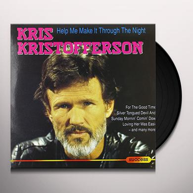 Kris Kristofferson HELP ME MAKE IT THROUGH THE NIGHT Vinyl Record
