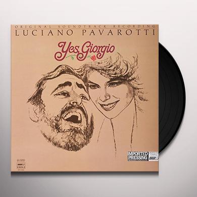 Luciano Pavarotti YES GIORGIO Vinyl Record